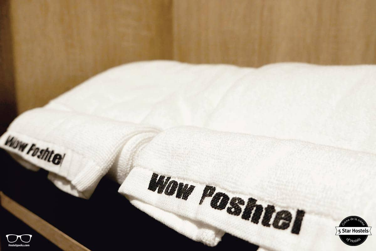 Custom design for the towels