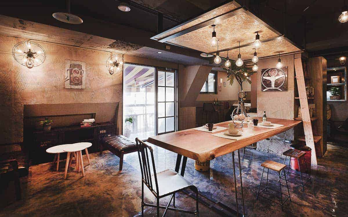 Ximen Wow Hostel Taipei, Taiwan - homely design in a busy city