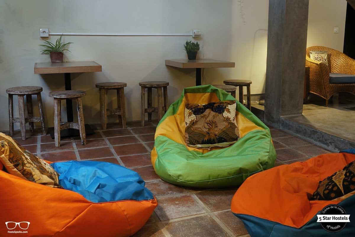 Get comfy at Bread and Jam Hostel Bali