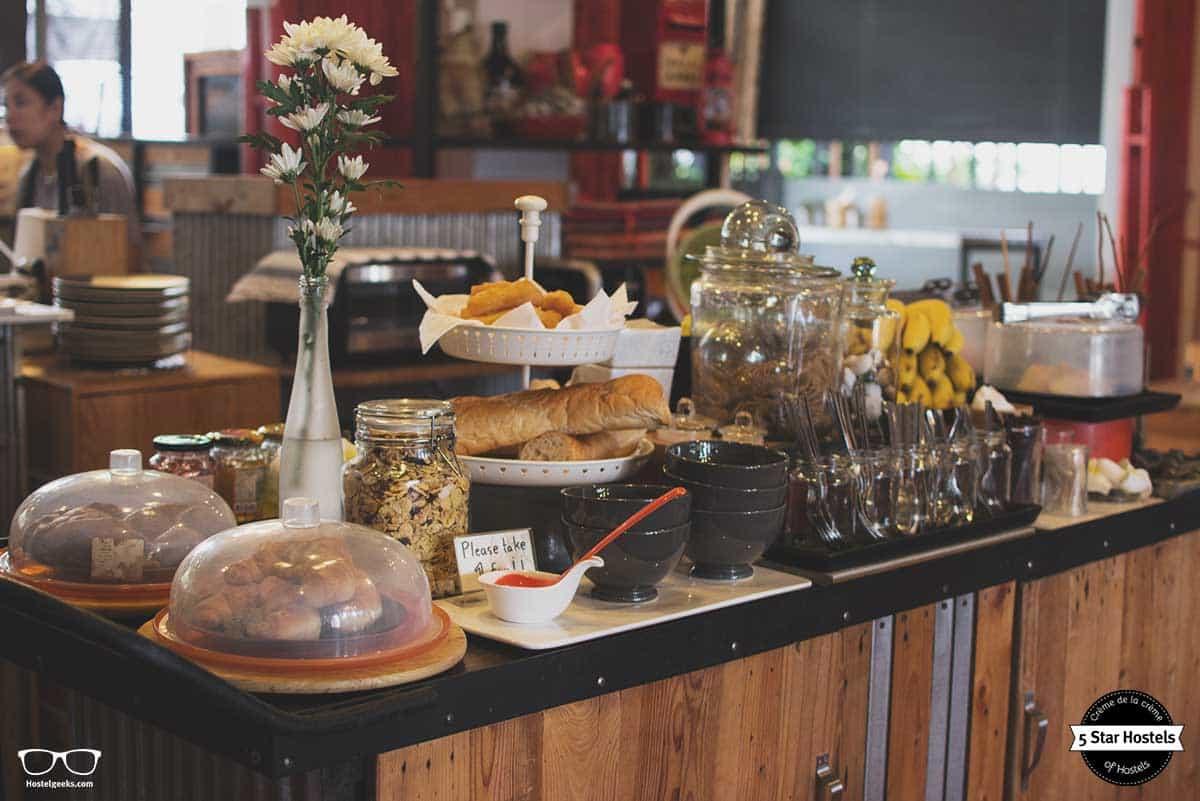 Breakfast at SleepClub Krabi