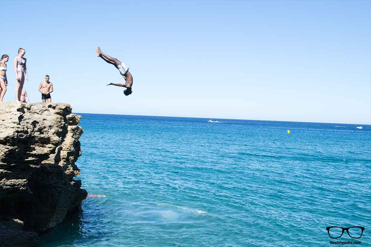 Cliff Jumping Costa Brava