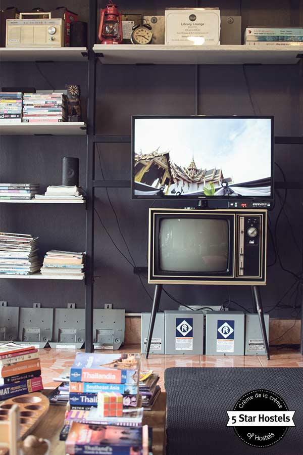 Vintage TV at SleepClub Krabi