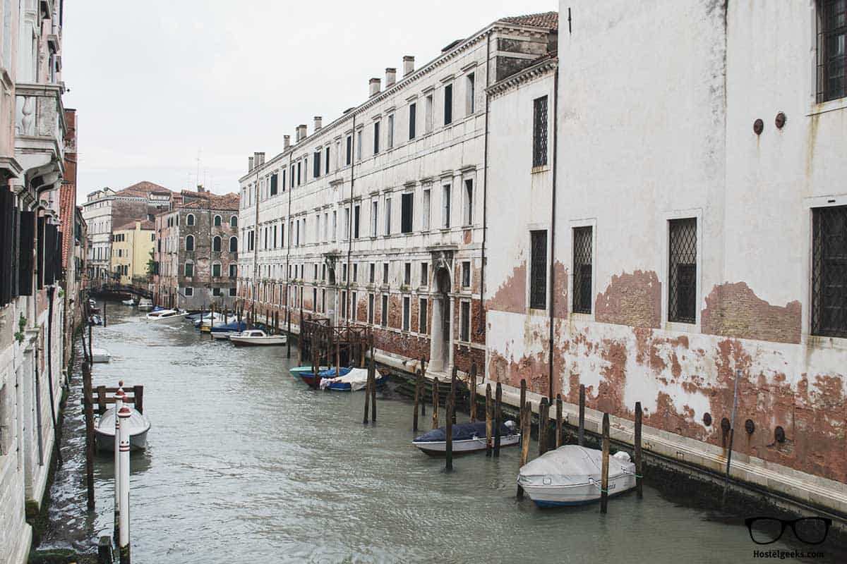 Canal view from We Crociferi