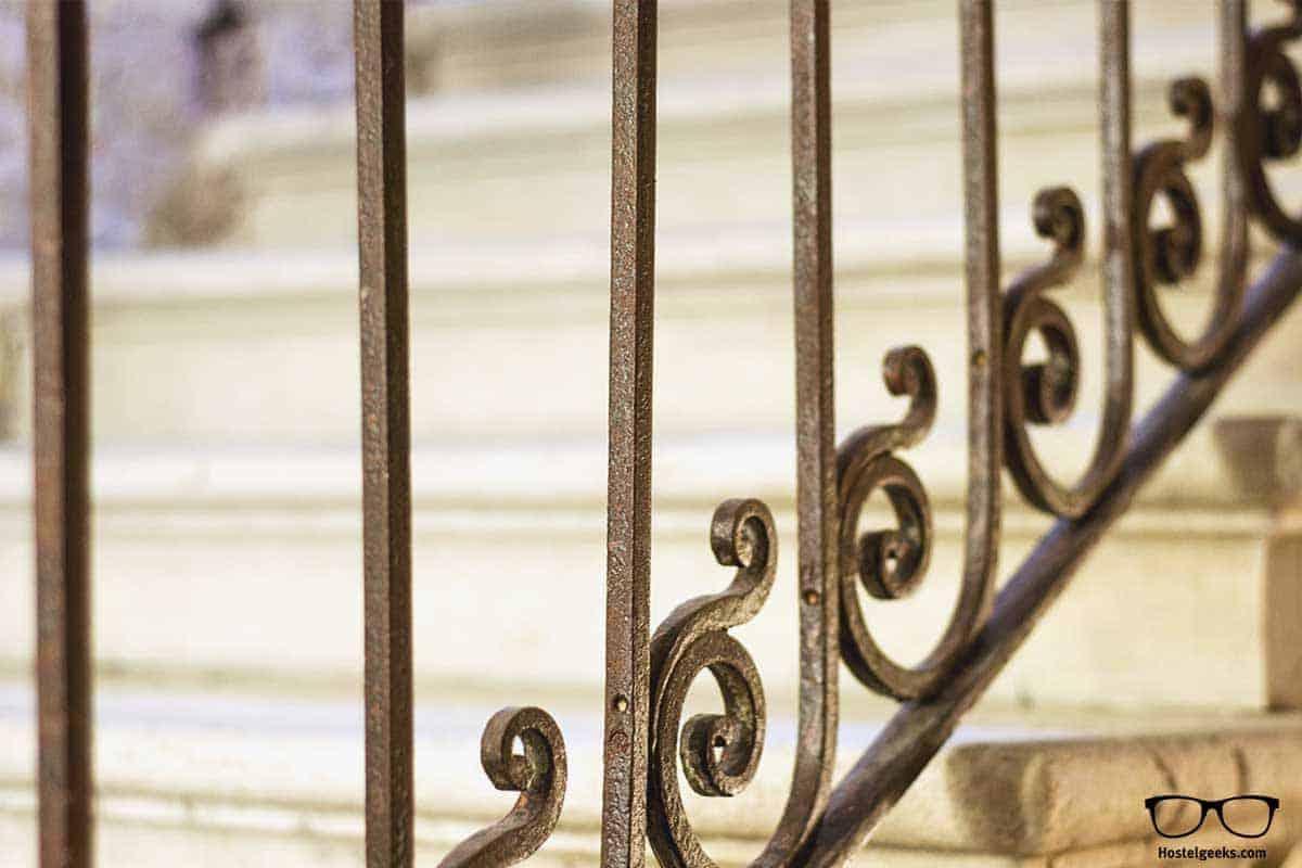 Staircase detail We Crociferi Venice