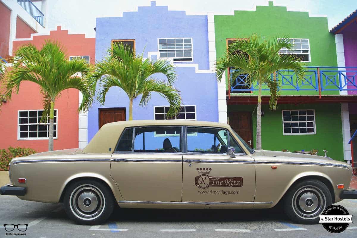 The Ritz Village vintage car