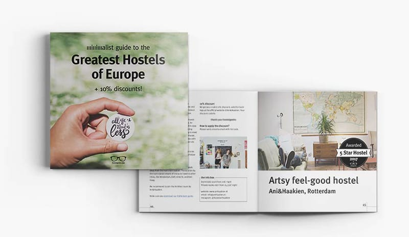 Best Hostels Europe 2017 + 10% discount