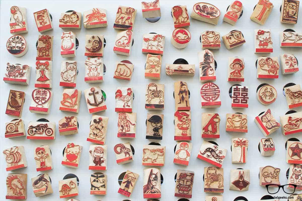 Get a handmade stamp