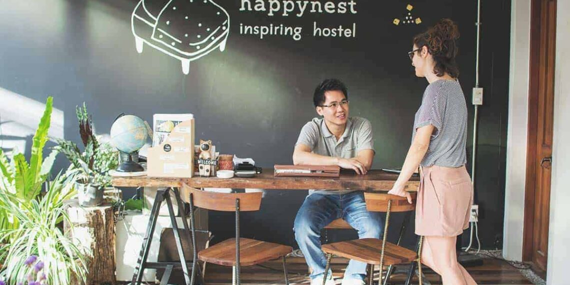 Happynest Hostel in Chiang Rai - Inspirational Haven and Typewriters