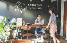 Happynest Hostel Chiang Rai - Inspiration und alte Schreibmaschinen