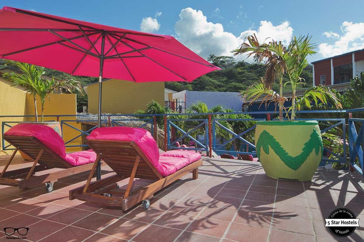 Terrace at the Ritz Village Hostel