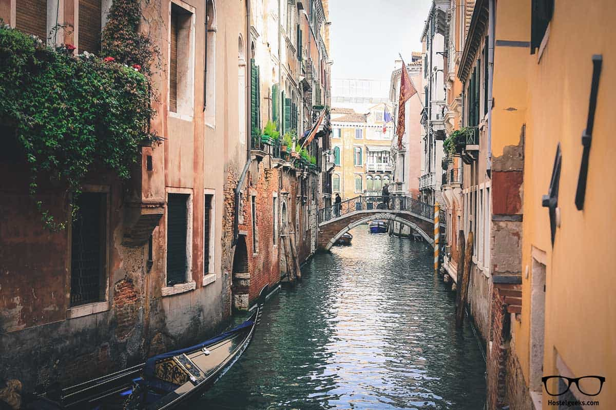 Stunning canals in Venice