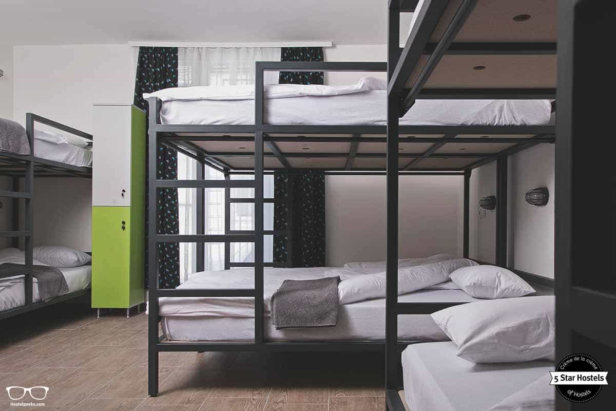The bunk bed option