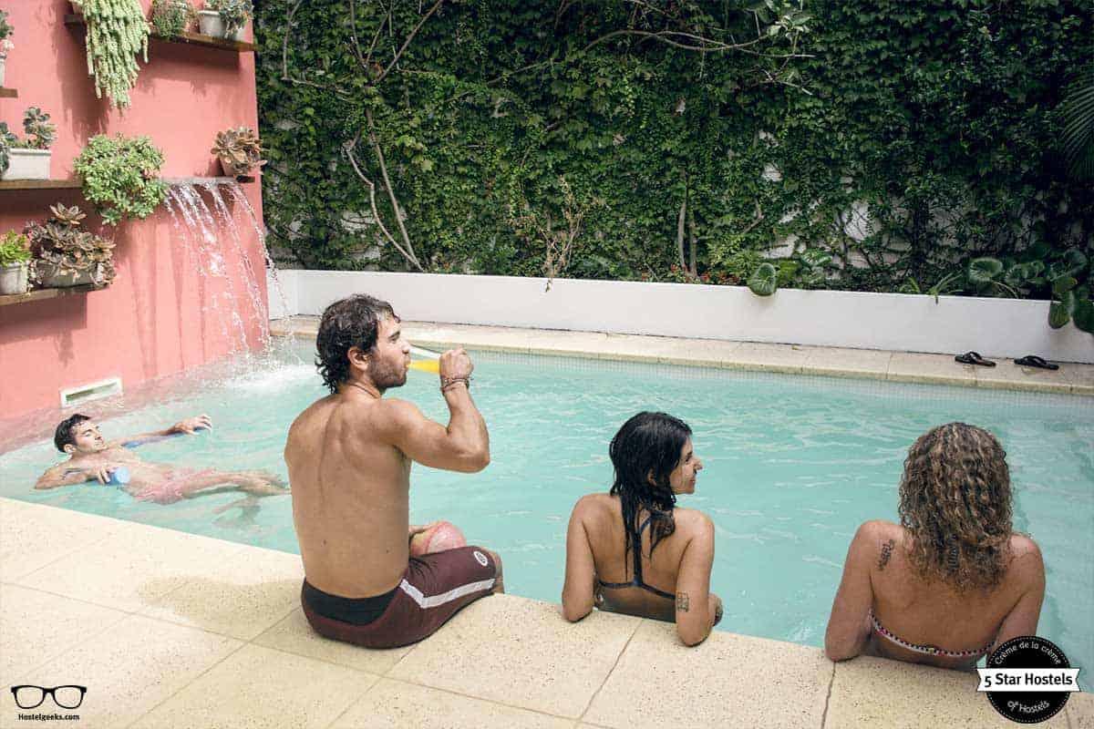 Pool at caravan BA Argentina