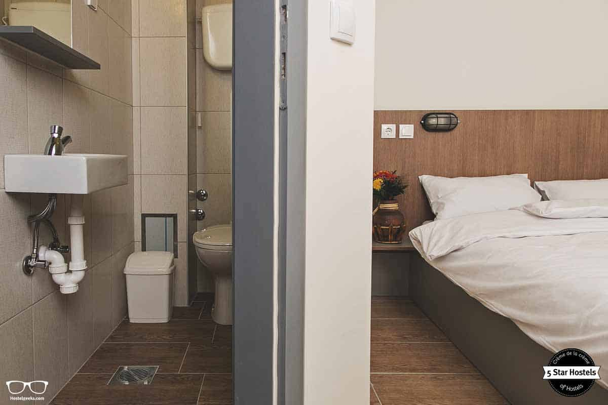 Private room with ensuite facilities is available as well