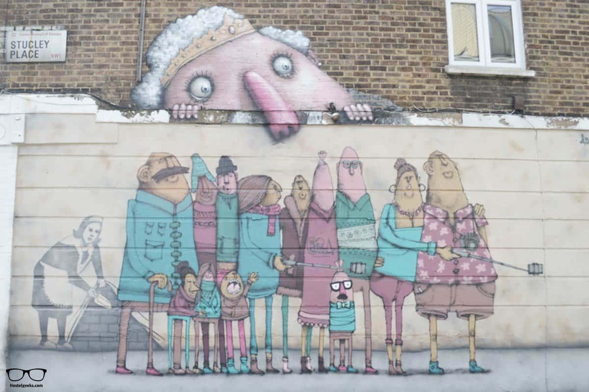 Spot a Bansky in London