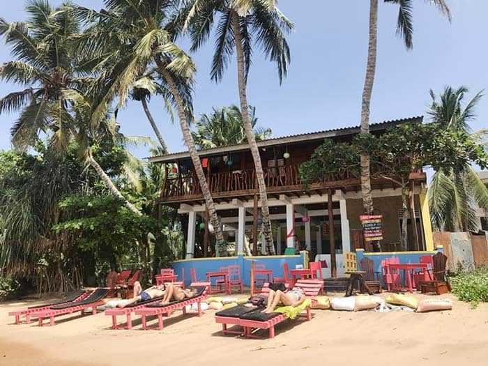 Lucky beach Hostel in Tangalle