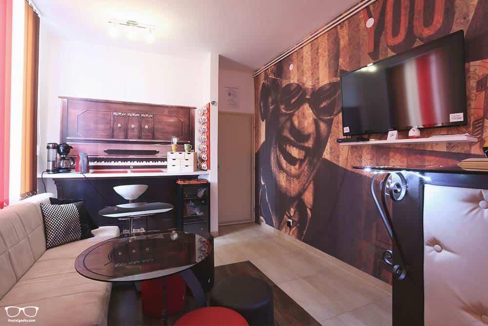 Best hostel in Zadar Design Hostel Mr. Charles