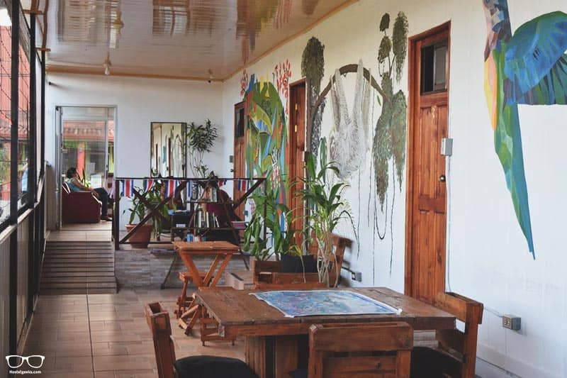 Arenal Container Hostel one of the best hostels in Costa Rica