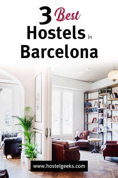 Best Hostels in Barcelona, Spain - by Hostelgeeks