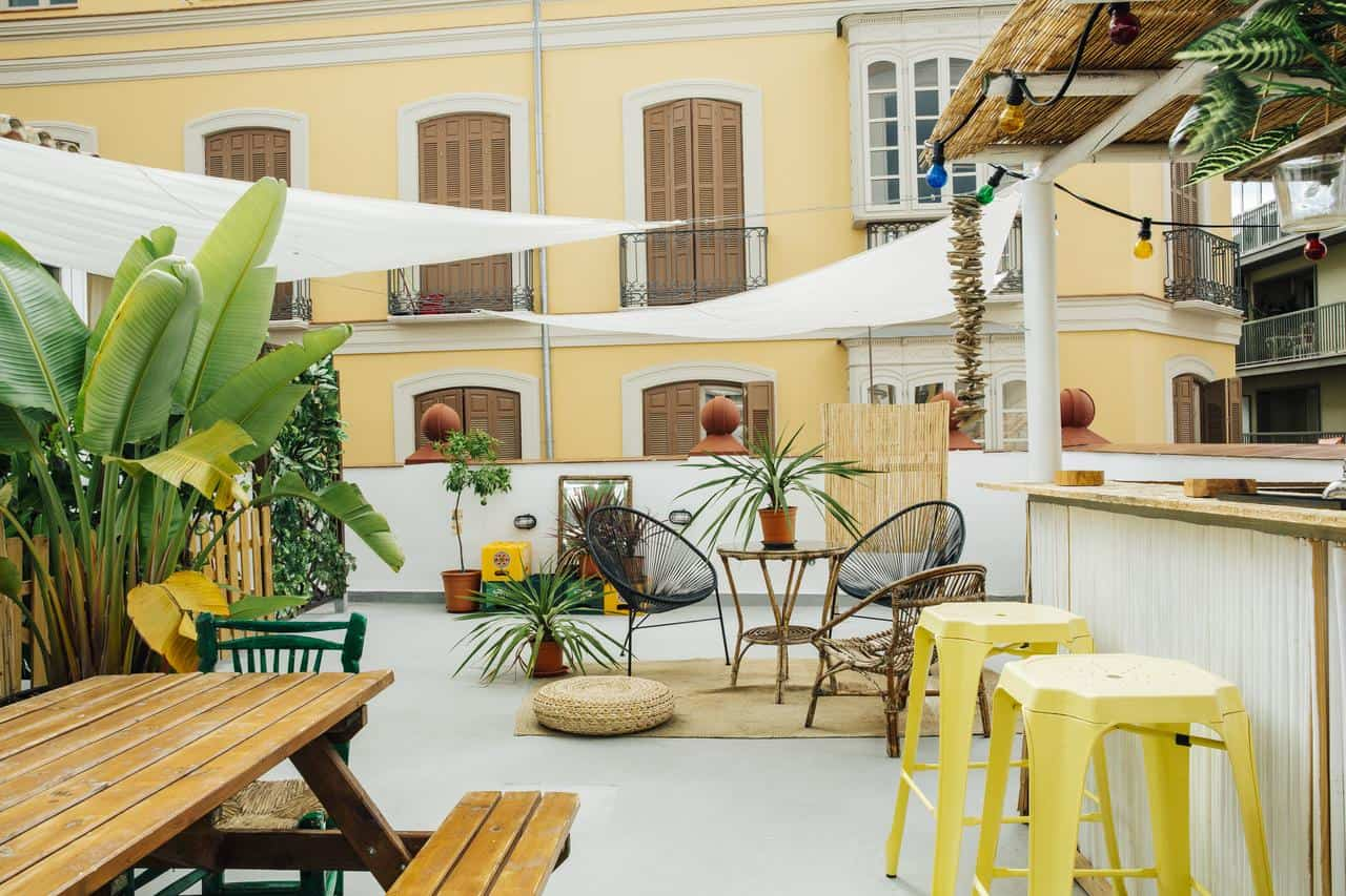 Urban Jungle Boutique Hostel in Malaga