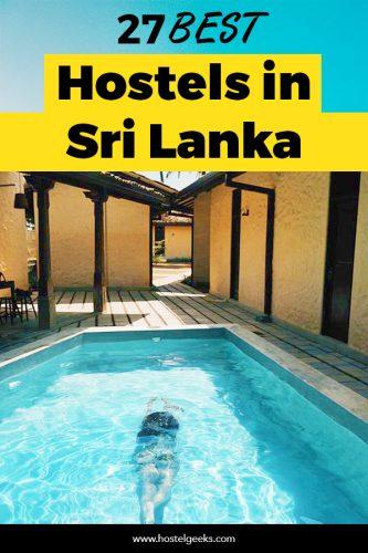 Best Hostels in Sri Lanka
