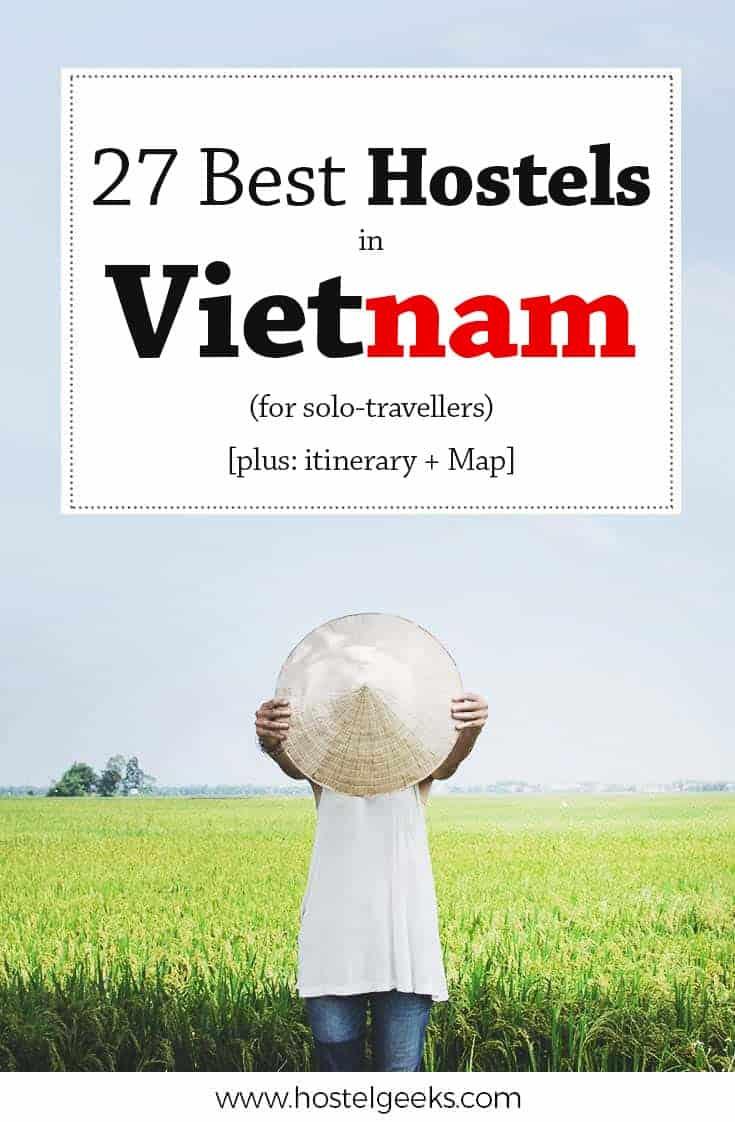 27 Best Hostels in Vietnam (+ Map)