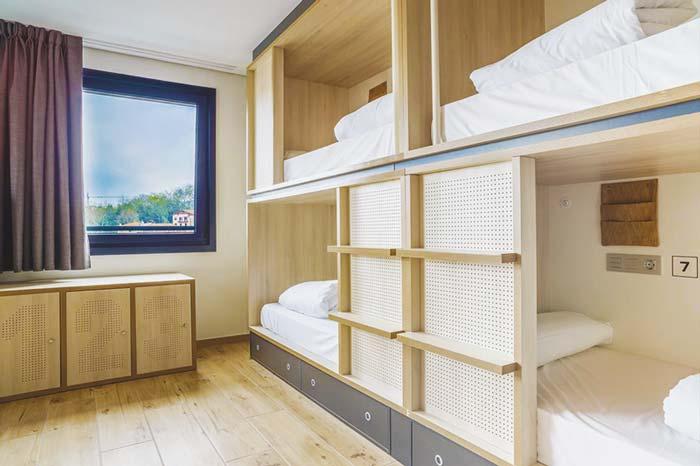 Best Hostels in San Sebastian, the Koisi Hostel is perfect for groups