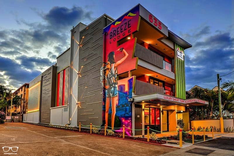 Breeze Lodge Brisbane one of the best hostels in Australia