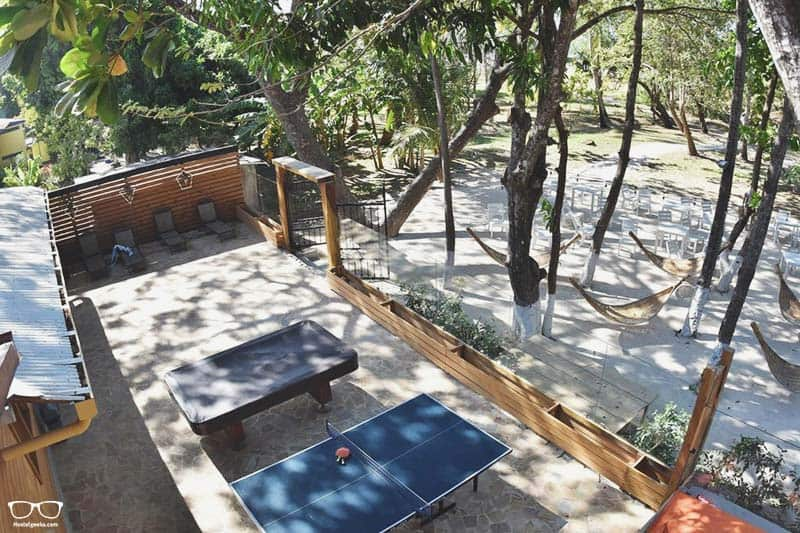 Casa Aura Beachfront Premium Hostel one of the best hostels in Costa Rica