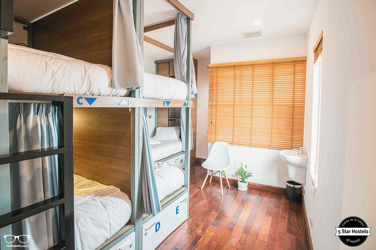 Design Hostel with comfy bunk beds in Hanoi, NEXY Hostel