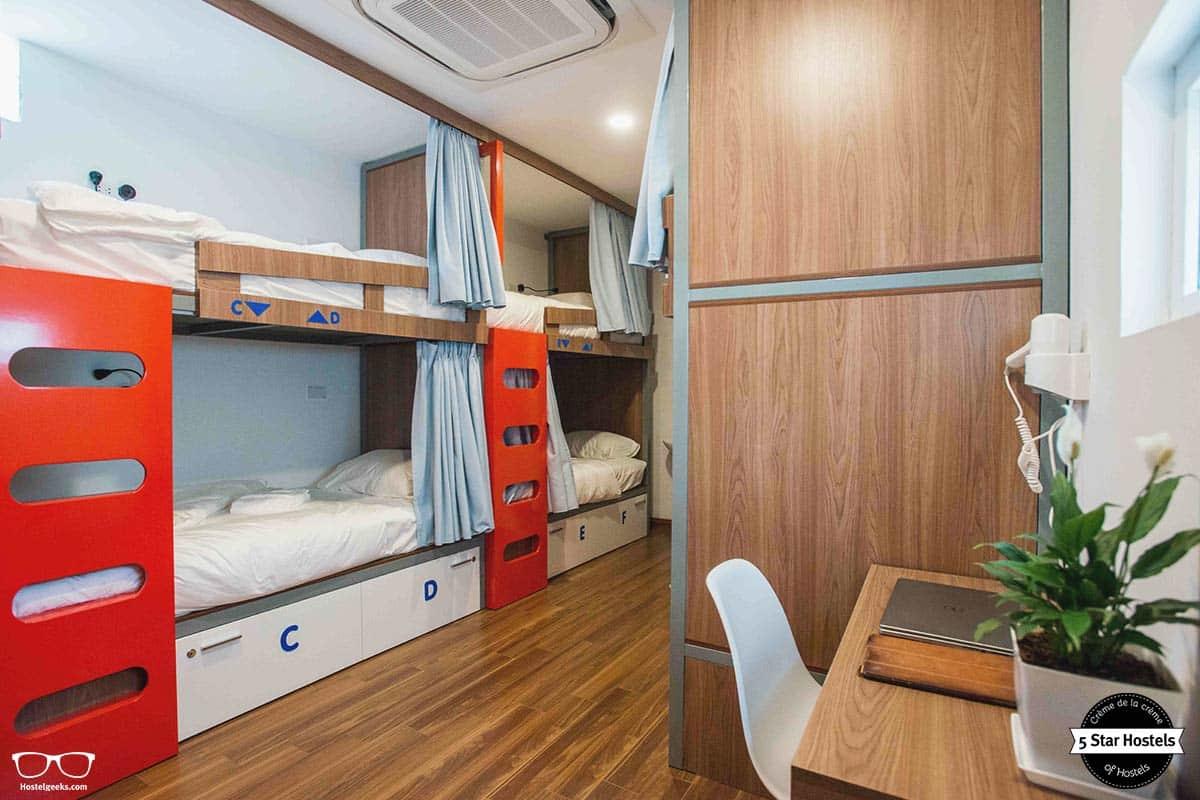 Sleep well at NEXY Hostel