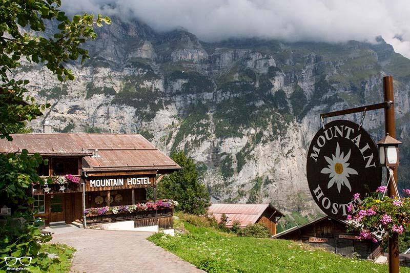 Gimmelwald Mountain hostel best hostels in Switzerland