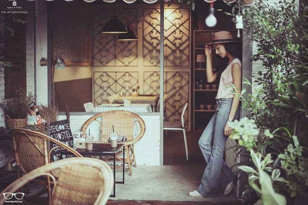 The Goose Cafe'&Hostel Ubon Ratchathani, Thailand