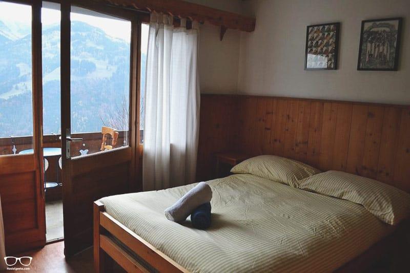 Gryon Chalet Martin Backpackers Hostel best hostels in Switzerland