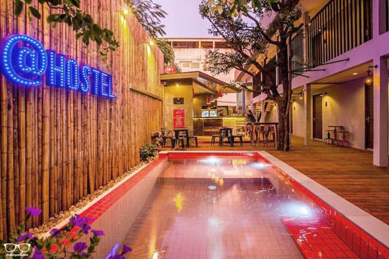 At Hostel one of the best hostels in Koh Samui, Thailand