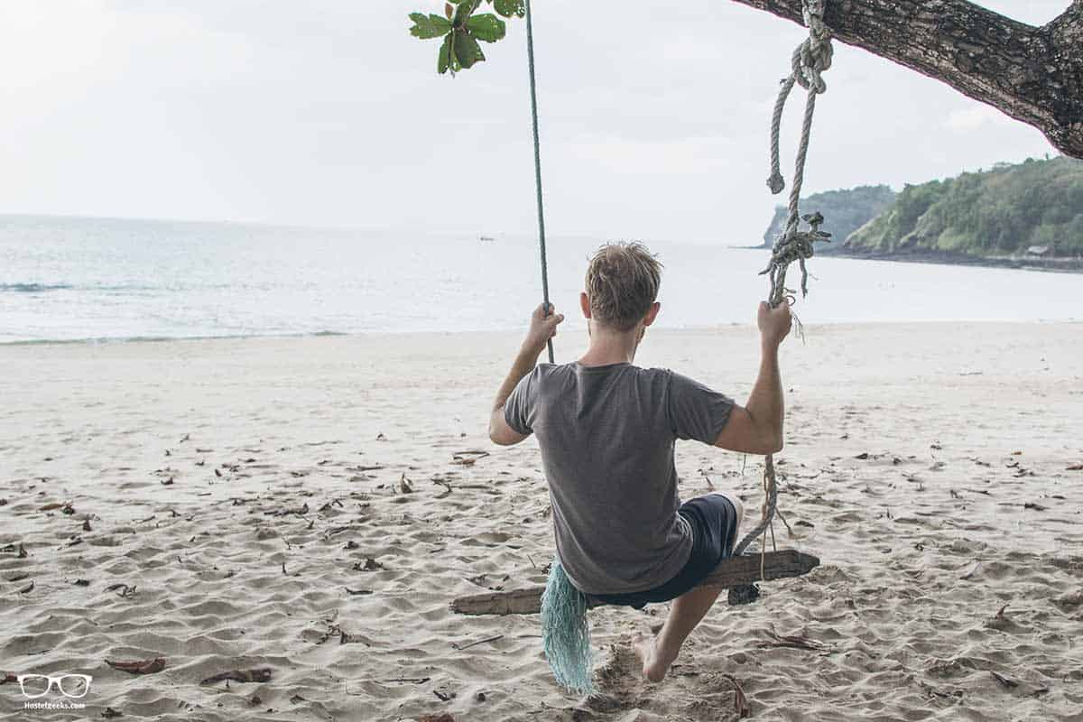 Backpacking Koh Lanta; the beaches are not the absolute best ones in Thailand, but one of the most virgin ones!