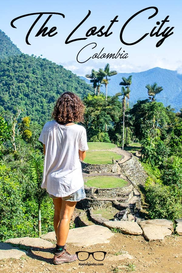The Lost City in Colombia - a real adventure is waiting for you