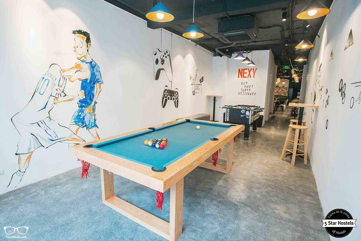 Let's play! at NEXY Hostel, Hanoi