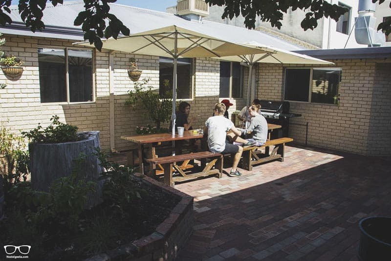 The Shiralee Backpackers Perth one of the best hostels in Australia