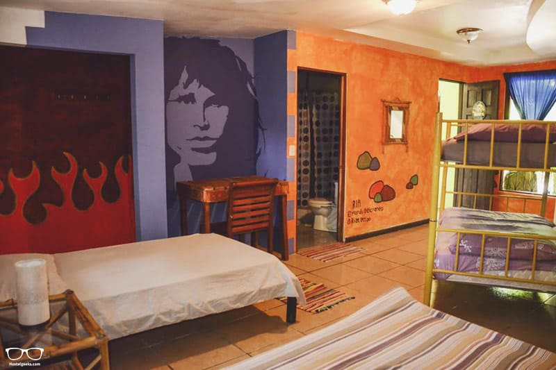 Pura Vida Hostel one of the best hostels in Costa Rica