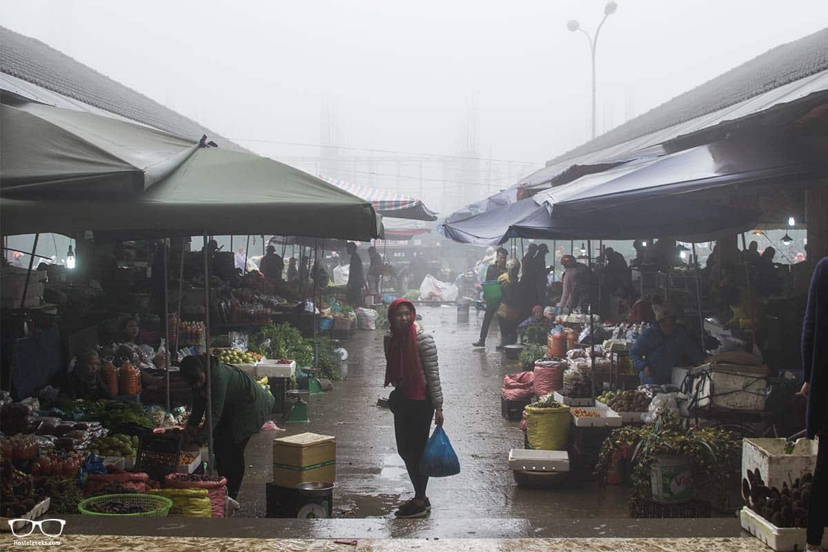 Local Market in Sa Pa Vietnam