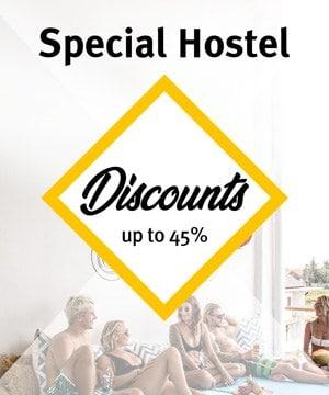 Special Hostel Discounts