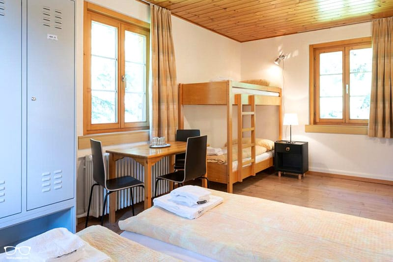 Hostel by Randolins St. Moritz one of the best hostels in Switzerland