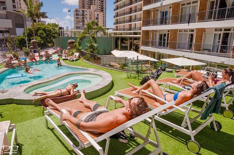 BUNK Surfers Paradise one of the best hostels in Australia
