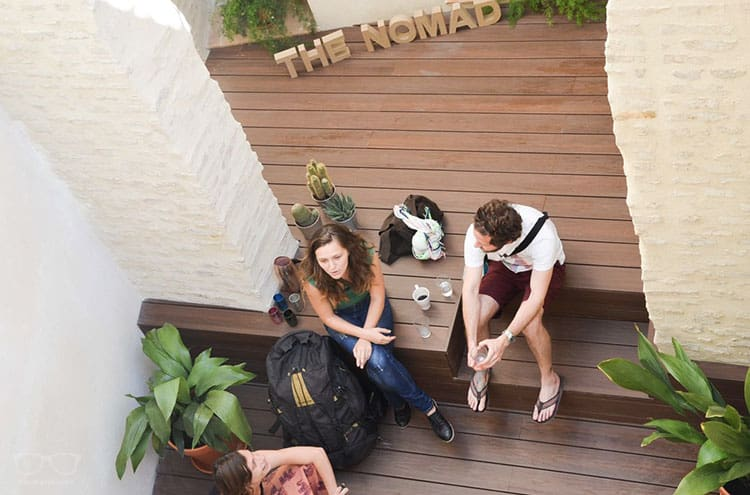 The Nomad hostel, one of the best hostels in Seville