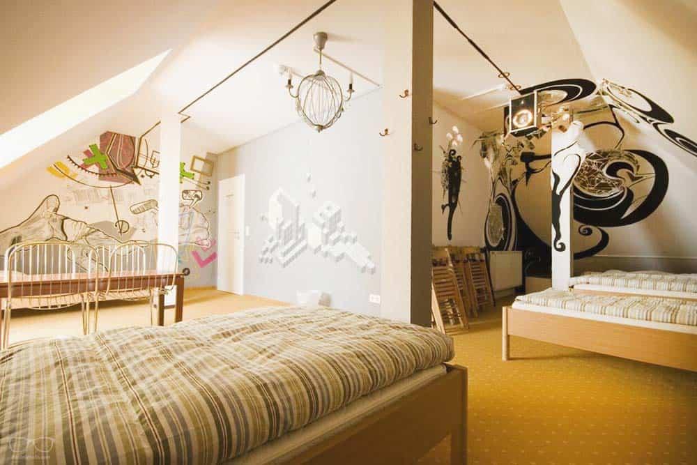 Best hostel in Weimar: Labyrinth hostel