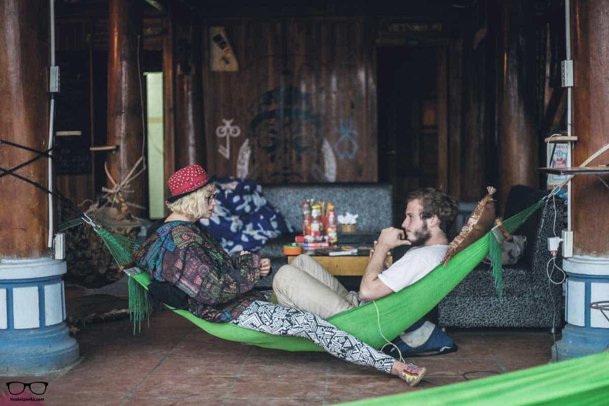 Just hanging around Woodstock Beach Camp