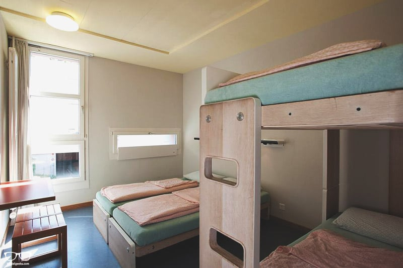 Zurich Youth Hostel best hostels in Switzerland