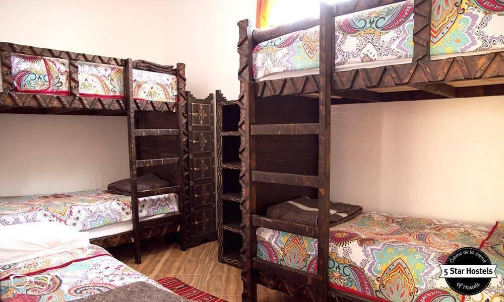 bunk beds amayour surf hostel