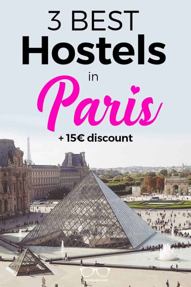 3 Best And Coolest Hostels In Paris 2019 Solo Traveler Map